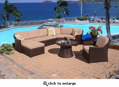 Huntington Sectional Set of 6 (MF)