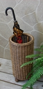 Long Island Wicker Umbrella Stand (UPS $30)