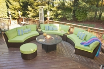 Oceanview Outdoor Modular Sectional Set of 5 (MF)
