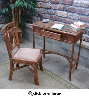 Plantation Desk & Chair (UPS $120)