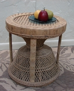 Round Cane Table (UPS $30)