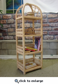 Spiral Four Tier Etagere (UPS $60)
