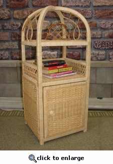 Spiral Two Tier Stand w/Door (UPS $45)
