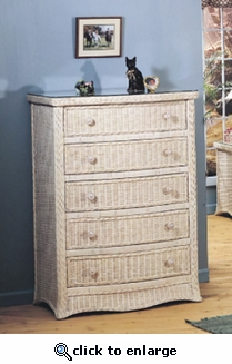 Town and Country Five Drawer Dresser (MF)