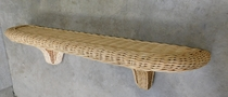 Wicker Shelf (UPS $20)