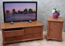 Wide Screen TV Stand and End Table Set of 2 (UPS $135) (10% Off!)