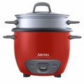 Aroma ARC-743-1NGR Rice Cooker and Food Steamer - 6 Cup
