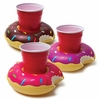 Donut Floating Drink Holders - 3 Pack