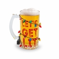 Get Lit Lighted Beer Glass
