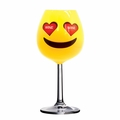 Giant Emoji XL Wine Glass