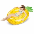 Giant Pineapple Slice Pool Float