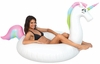 Giant Rainbow Unicorn Pool Float 75 in