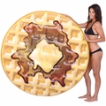 Giant Waffle Pool Float 56 in