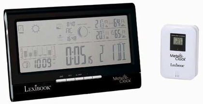 Home Weather Station - MeteoClock Full View