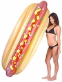 Hot Dog Pool Float 84 in
