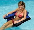 Nylon Covered U-Seat Inflatable Pool Chair