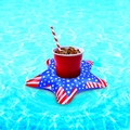 Patriotic Stars Beverage Boats