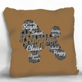 Personalized Dog Breed Pillow