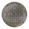 Personalized Manhole Cover Doormat
