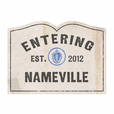 Personalized Now Entering Doormat