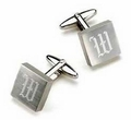 Personalized Silver Cufflinks