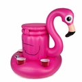 Pink Flamingo Inflatable Cooler