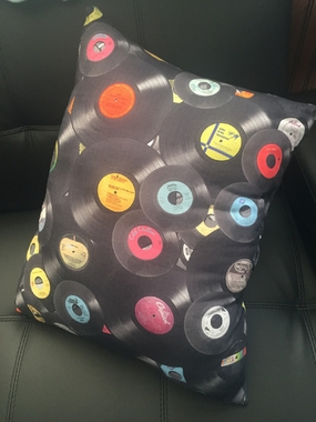 Record Pillow