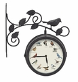Singing Bird Clock and Thermometer