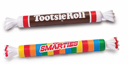 Smarties & Tootsie Roll Noodle Pool Float Set