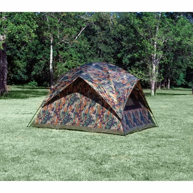 Texsport 1333 Headquarters Camouflage Square Dome Tent