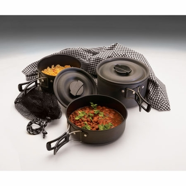 Texsport 13412 The Scouter Hard Anodized Cookware Set