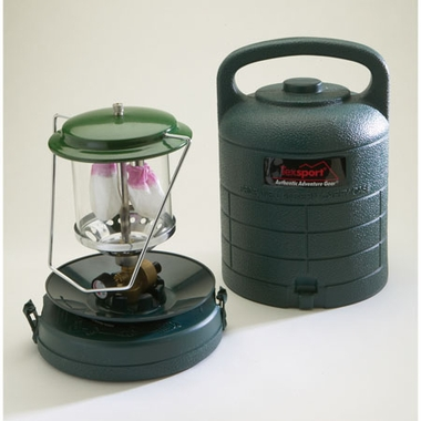 Texsport 14216 Double Mantle Propane Lantern With Carry Case