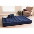 Texsport 22410 Deluxe Air Beds with Built In Battery Pump, Queen