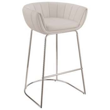 18200 Modern Low Back Bar Stool by Scott Living