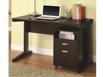 2 PC Desk Set with Rolling File Cabinet