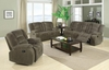 2 PCS Charlie Motion Reclining Sofa and Loveseat
