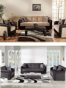 2 PCS Vision Sofa, Loveseat, Armchair Furniture Stores
