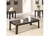 3 PC Marble Top Table Coffee Sets Furniture Stores