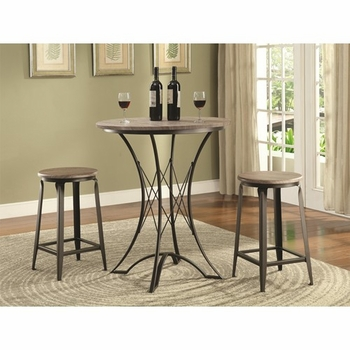 3-Piece Counter Height Table Set with Stools