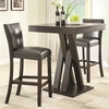 3PC Bar Height Table and Stools Set