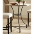 3PC Bar Tables Bistro Style Counter Height Dining Set