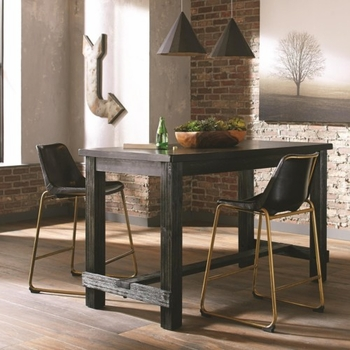 3PC Bynum Rustic Counter Height Table and Stool Set