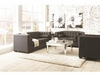 3PC Cairns Stationary Sofa, loveseat and chair with Tufted Back and Lumbar Pillows