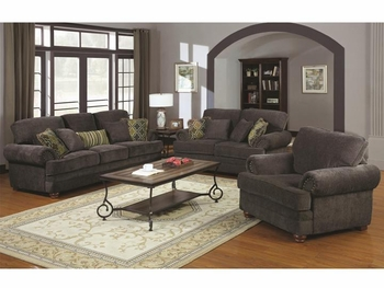 3PC Colton Traditional Living Room Elegant Design Style