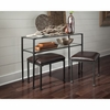 3PC Home Accents Table and Stool Set