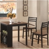 3PC Persia Breakfast Table w/ 2 Side Chairs