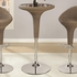 3PC Rattan Bar Table w/ Chrome Base