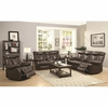 3PC Zimmerman Power Reclining Sofa, loveseat and chair with Pillow Arms