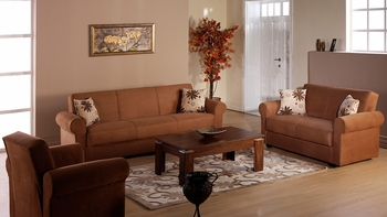 3PCS Set Living Rooms Elita Sofa, Loveseat and armchair