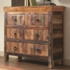 4 Drawer Reclaimed Wood Cabinet